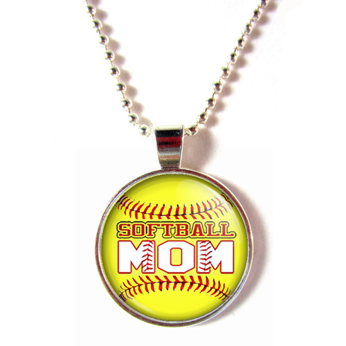 softball mom necklace