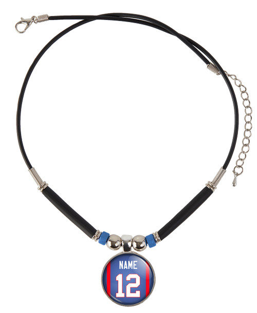 Personalized Philadelphia 76ers Jersey Necklace with Name and Number