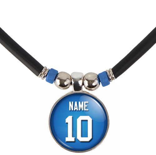 Personalized New York Giants Necklace With Name and Number