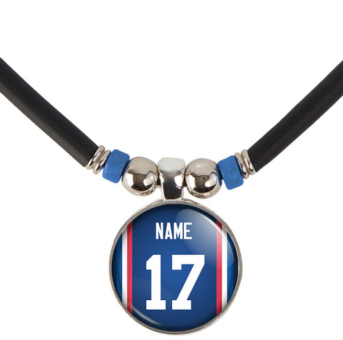 Personalized Buffalo Bills Necklace With Name and Number