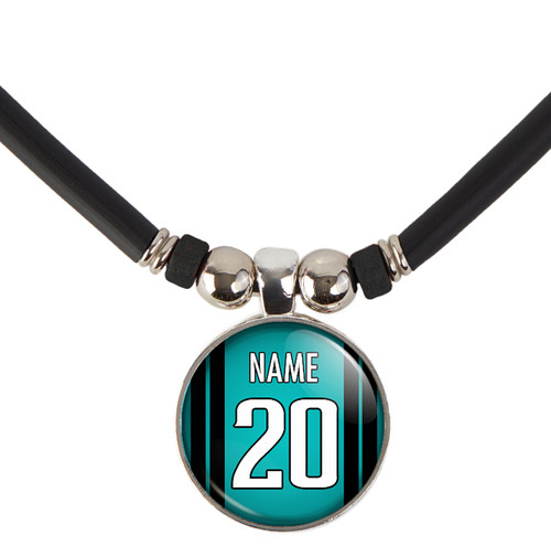Personalized Jacksonville Jaguars Necklace With Name and Number