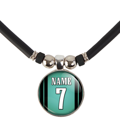 Personalized Philadelphia Eagles Necklace With Name and Number