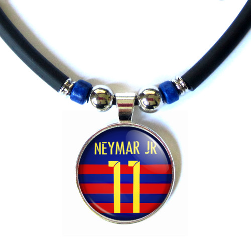 Neymar Jr. FC Barcelona 2015-16 Jersey Necklace