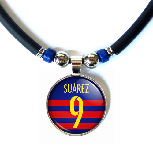 Luiz suarez necklace, luis suarez necklace
