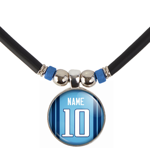 Personalized Tennessee Titans Necklace With Name and Number