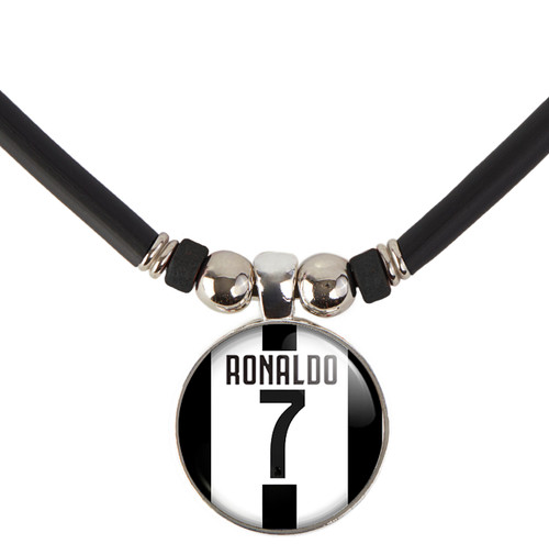 Cristiano Ronaldo Juventus Jersey Necklace