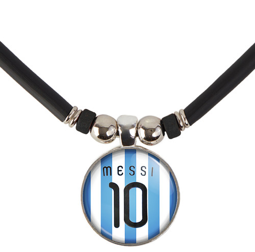 Messi Argentina Jersey Necklace