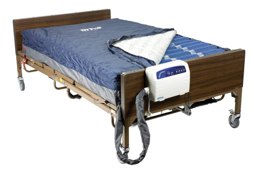 "Drive Medical Med-Aire Plus 10"" Bariatric Alternating Pressure and Low Air Loss Mattress Replacement"