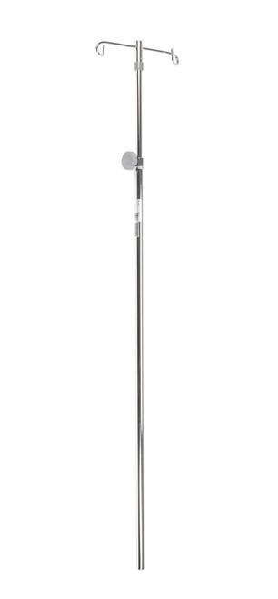 Drive Medical IV Pole Only (2 Hooks)