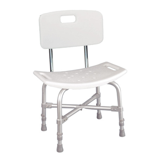 Drive Medical Deluxe Bariatric Shower Chair with Cross - Frame Brace