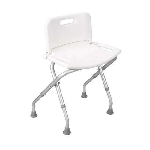 Drive Medical Folding Shower Chair With Back