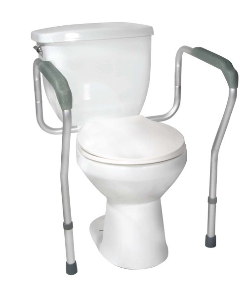 Drive Medical Toilet Safety Frame with Height and Width Adjustable Arms