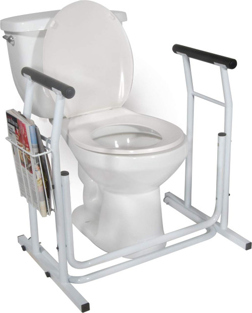 Drive Medical Free-standing Toilet Safety Rail