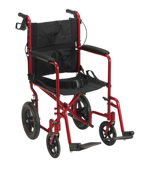 Drive Medical Lightweight Expedition Aluminum Transport Chair