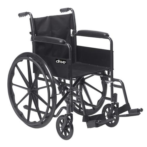 Drive Medical Silver Sport 1 Wheelchair