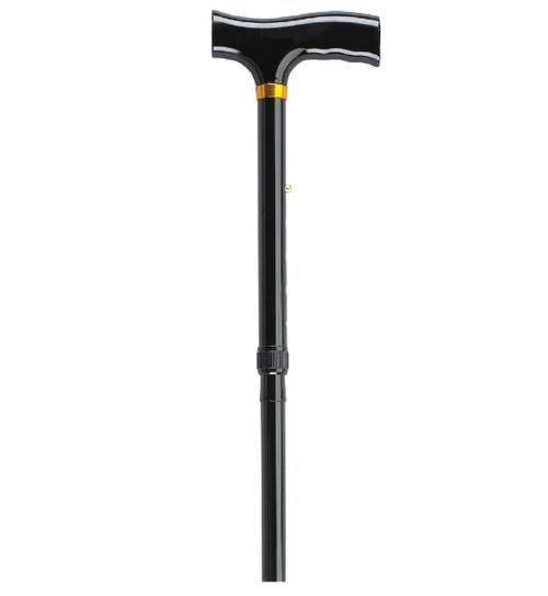 Drive Medical Bariatric Aluminum Folding Cane, Height Adjustable