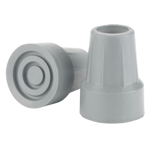 Drive Medical Crutch Tips (7/8' crutch diameter) Gray