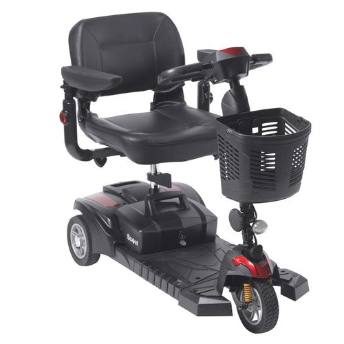 Drive Medical Scout DST 3-Wheel Travel Scooter