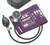 ADC Diagnostix 700 Pocket Aneroid  sphygmomanometer Model 700-11AV Color Purple