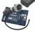 ADC Diagnostix 703 Palm Aneroid Sphygmomanometer Model ADC703-11ARB Color Royal Blue