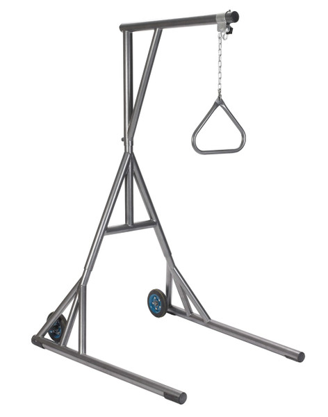Drive Medical Free-Standing Silver Vein Trapeze