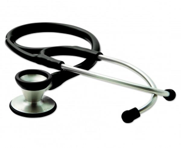 ADC Adscope 602 Cardiology Stethoscope Model 602BK Color Black