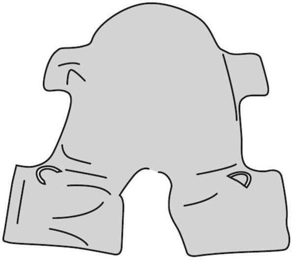 Drive Medical Split Leg Sling w/Head Support