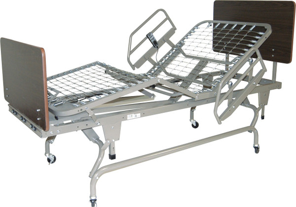 Drive Medical 1/4 Length Bed Rail, Head Section, Universal