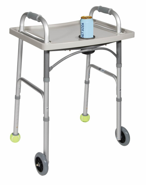 Drive Medical Universal Walker Tray with Cup Holder