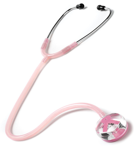 restige Medical Clear Sound Stethoscope Breast Cancer Awareness Edition Model S107PR Color Pink
