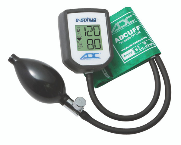 ADC E-sphyg Digital Pocket Aneroid  Sphygmomanometer Model 7002-9CGR Color Green