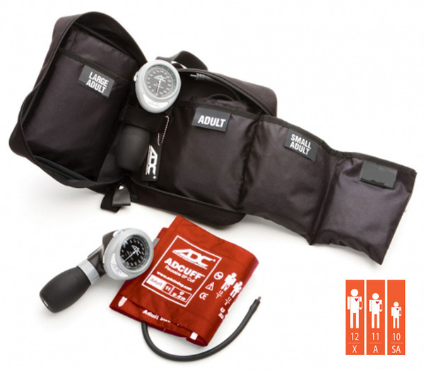 ADC Multikuf™ Portable 3 cuff Aneroid Blood Pressure System