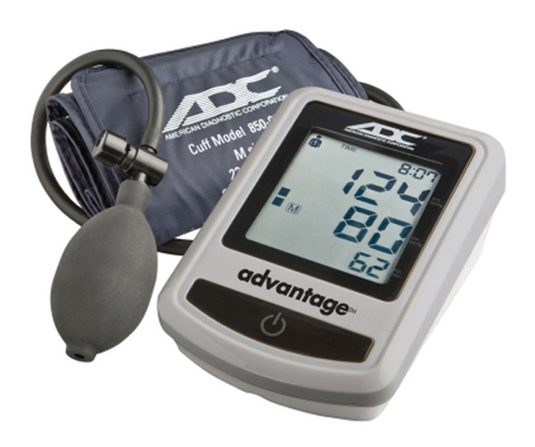 ADC Advantage™ 6012 Semi-Auto Digital BP Monitor