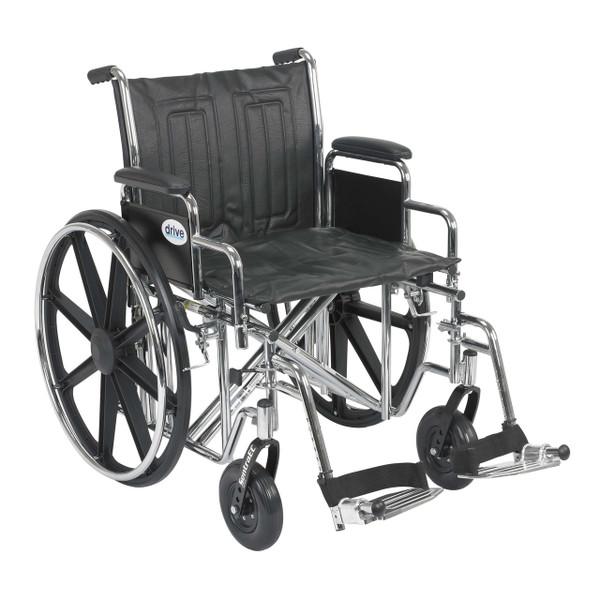 Detachable Desk Arm, Swing-away Footrests