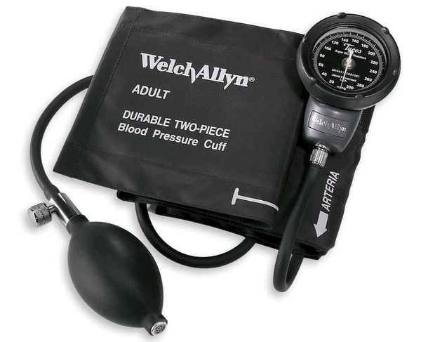 Welch Allyn Platinum Series DS48A Adult Pocket Aneroids with Nylon Zipper Case