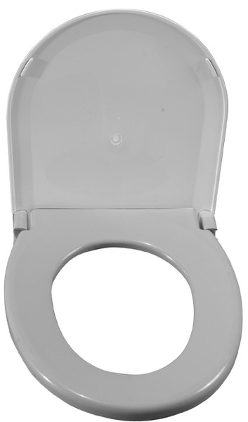Drive Medical Oblong Oversized Toilet Seat with Lid