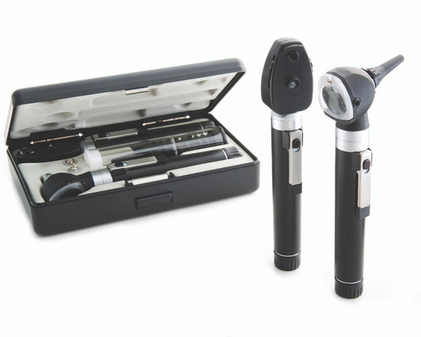 ADC Pocket Duel Handel Otscop Ophthalmoscope set In Hard Case