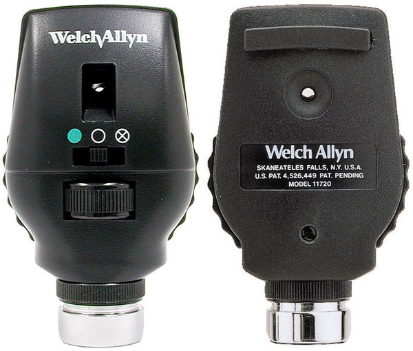 Whelch Allyn 3.5 V AutoStep Coaxial Ophthalmoscope - Head Only
