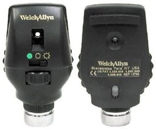 Whelch Allyn Prestige Coaxial-Plus Ophthalmoscope Head