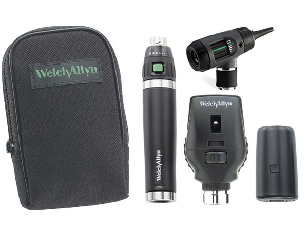 Welch Allyn Diagnostic Set, Lit-Ion Handle With Macro View  Soft Case - Model 97151-MS
