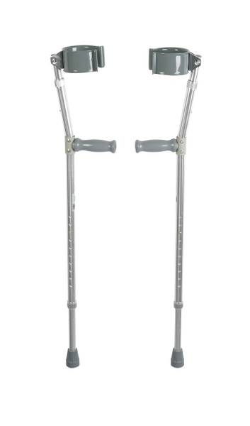 Drive Medical Steel Forearm Crutches