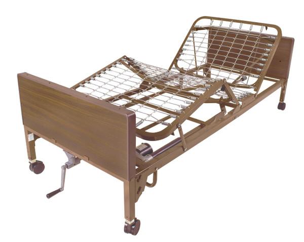 Drive Medical Semi-Electric Bed (Single Crank)