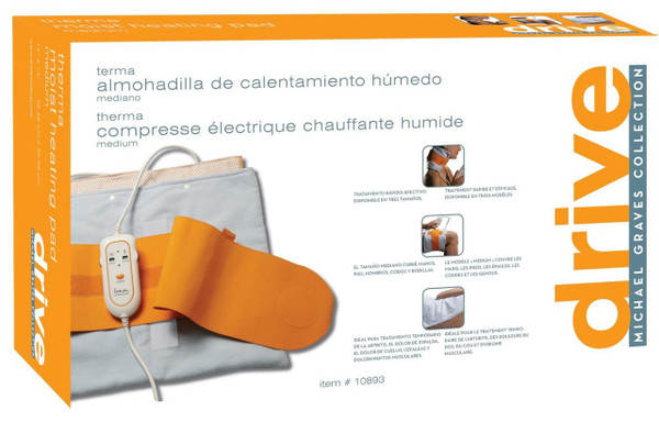 Therma Moist Heating Pad and Floor Display in Retail Box