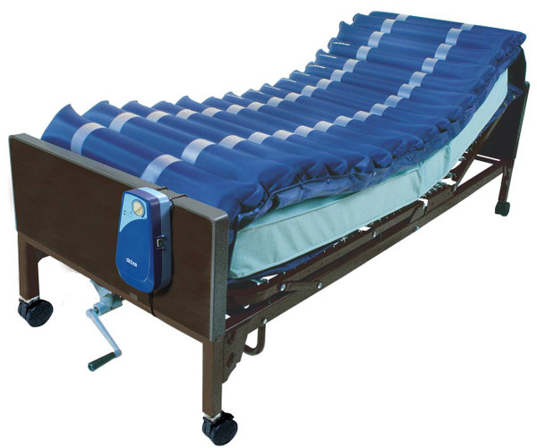 """Drive Medical Med-Aire 5"""" Alternating Pressure and Low Air Loss Overlay System"""