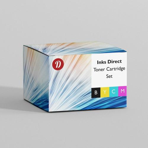 Compatible Canon Cb543A toner set