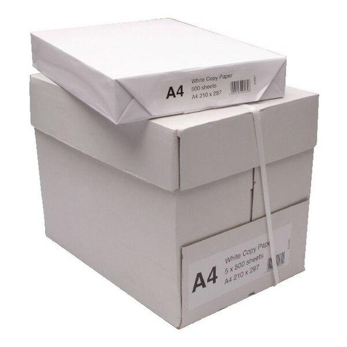 A4 2500 Sheets 80gsm White Printing Paper