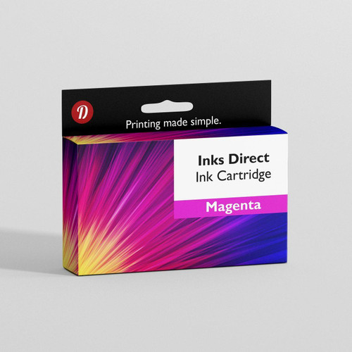 Compatible Brother Lc125, Lc127 Magenta Ink Cartridge