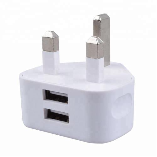 Dual Fast Charge USB Plug
