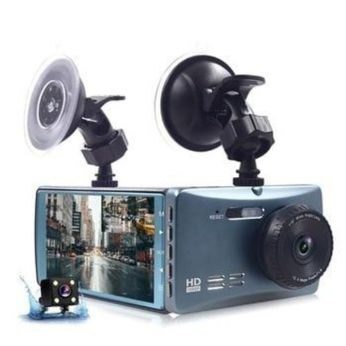 HD Front and Rear Car Dash Camera