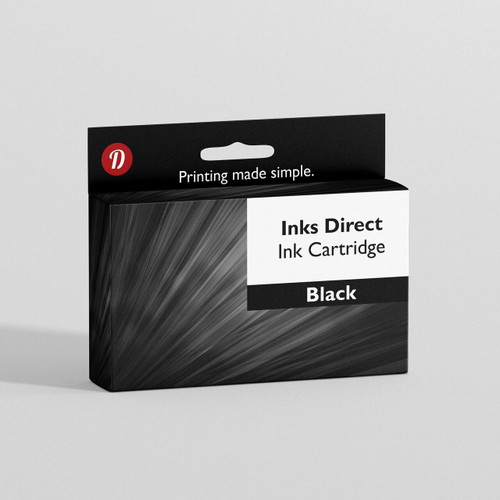 Compatible Brother LC123B Black Ink Cartridge